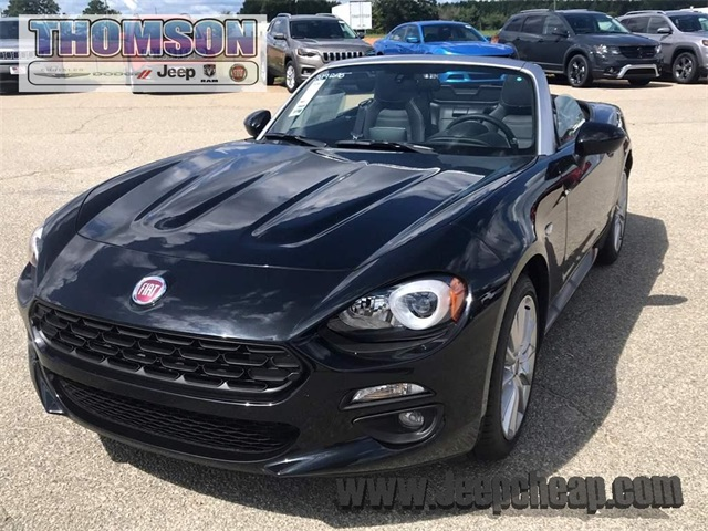new 2019 fiat 124 spider lusso convertible in thomson. Black Bedroom Furniture Sets. Home Design Ideas