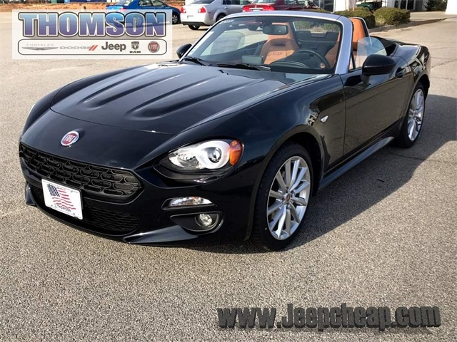 new 2018 fiat 124 spider lusso convertible in thomson. Black Bedroom Furniture Sets. Home Design Ideas