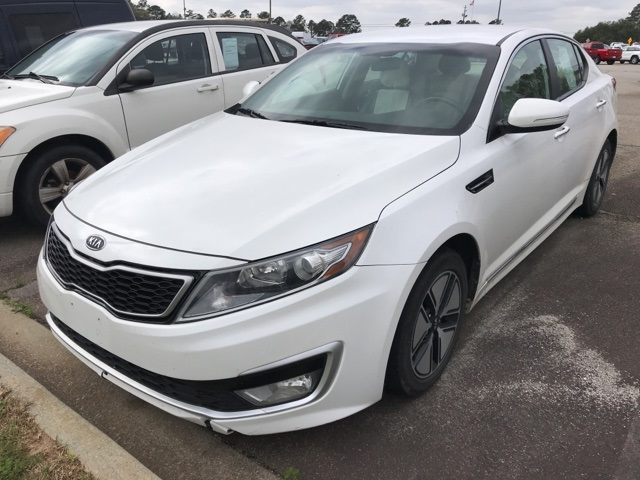 Pre-Owned 2011 Kia Optima Hybrid EX